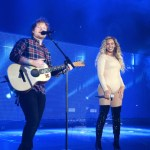 global citizen festival new york city Ed Sheeran and Beyonce Knowles