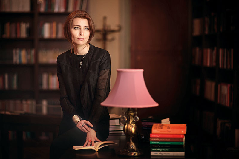 Elif Shafak, Turkish author, columnist, speaker and academic, Three Daughters of Eve, The Bastard of Istanbul, The Architect's Apprentice