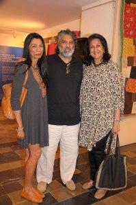 Elsie and Hossi Nanji, Sonal Shah