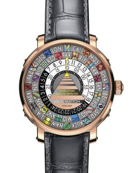 Louis Vuitton Escale Minute Repeater Worldtime face