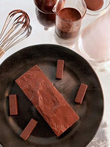 Black Desert Dusk dinner plate, from Nicobar.