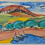 Landscape in Goa (Dona Paola), 1946 at Saffronart