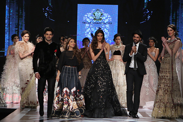 Athiya Shetty and Sooraj Pancholi for Falguni and Shane Peacock