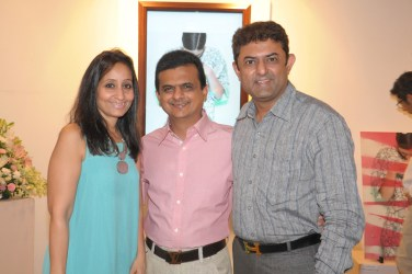 Falguni and Sushil Jhaveri, Amith Dholakia