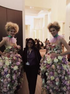 Verve's Falguni Kapadia flanked by Richard Mille models