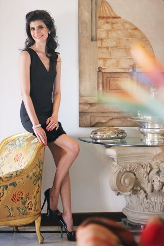 Farah Oomberbhoy: working her magic