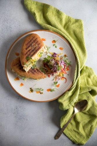 Farmer's Chicken Panini