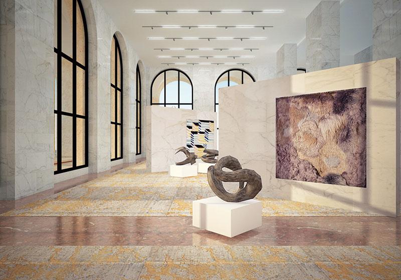 Fendi, Palazzo della Civiltà Italiana's exhibition area