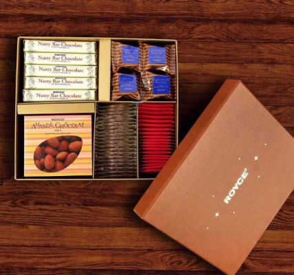 Festive selection box from Royce Chocolates
