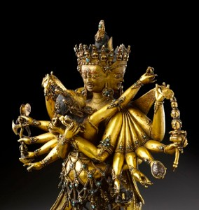 Figure of Chakrasamvara