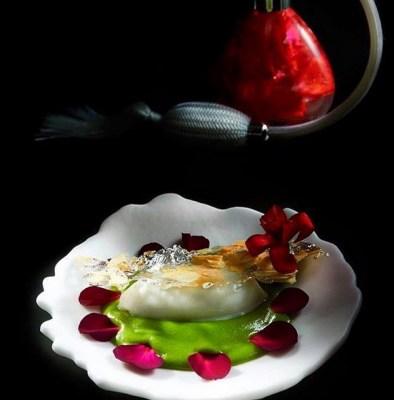 Firni - jasmine rice ice cream