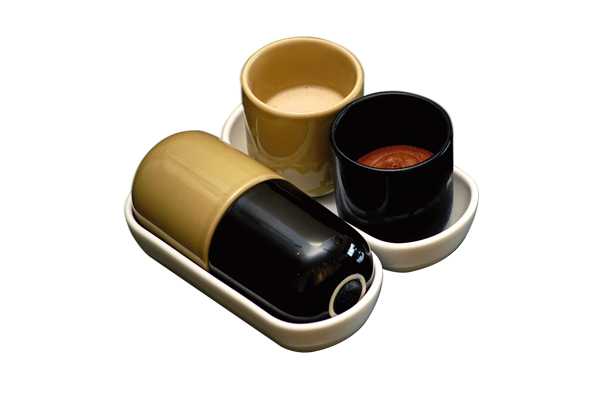 Mistan capsule with roasted cumin and chocolate fudge, Food