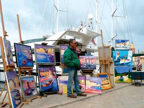 Saint-Tropez: open-air art haven