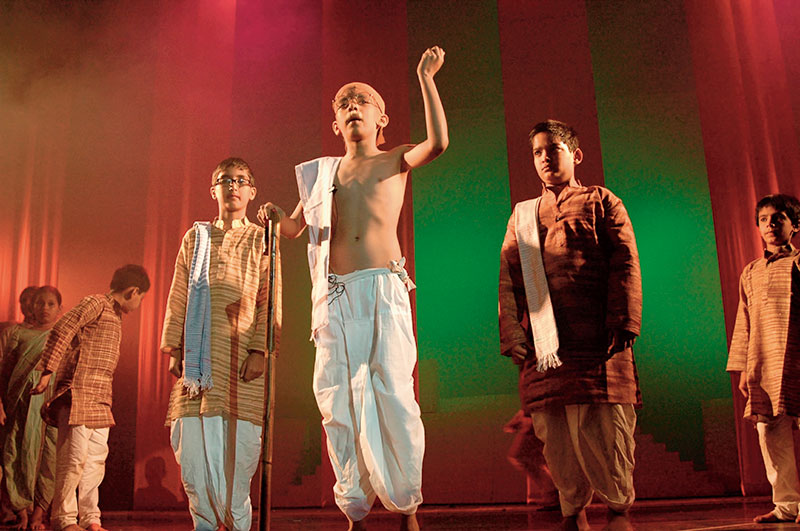 Freedom, Raell Padamsee's ACE, Swachh Bharat, Mahatma Gandhi