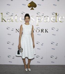 Freida Pinto at Kate Spade