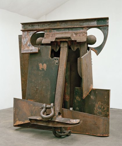 Anthony Caro, Erl King, 2009, steel rusted, 251 cm x 262 cm x 171 cm