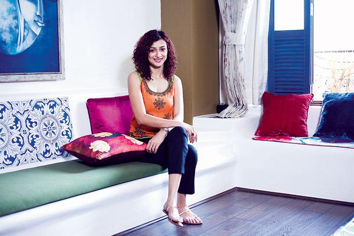 Gauri Pradhan, TV actress, currently playing the emotionally disturbed Falguni Parekh in the daily soap Meri Aashiqui Tumse Hi