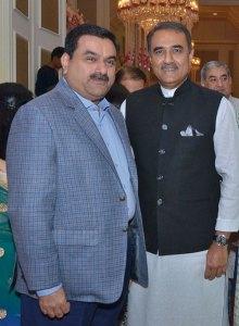 Gautam Adani, Praful Patel