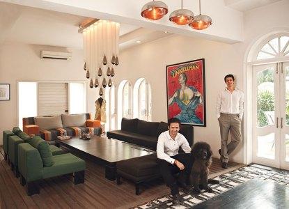 L-R: Prateek Jain, Gautam Seth