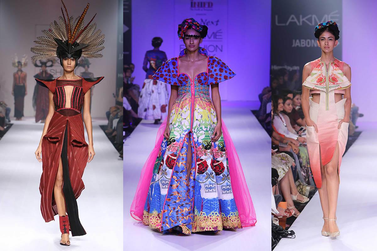 Lakme Fashion Week 2014 Neha Agarwal, Kristy De Cunha, Arunima Majhi