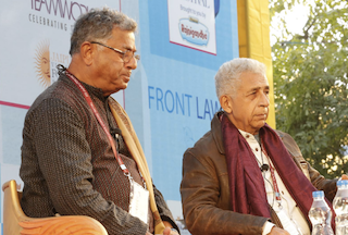 Girish Karnad, Naseeruddin Shah, ZeeJLF2015
