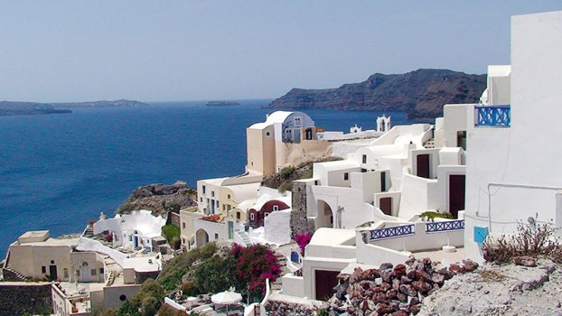 Blue View: Oia, Santorini
