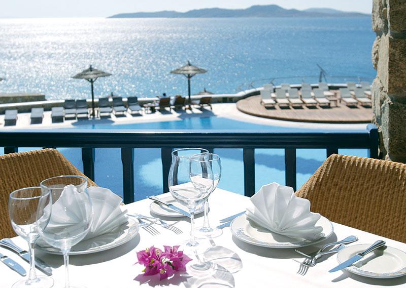 Greece, Dolphins of delos, mykonos grand hotel