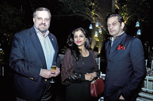 Gustavo de Aristegui, Shazia Ilmi, Raghavendra Rathore