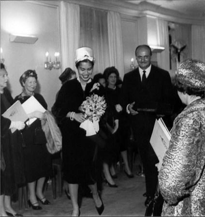 H.M. Queen Sirikit, Pierre Balmain