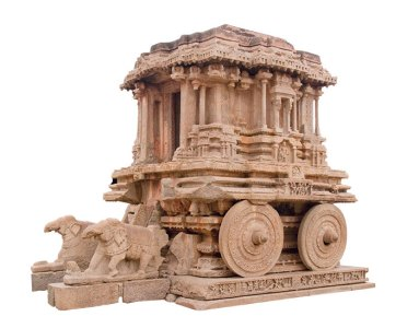 Stone chariot at Vitthala Temple.
