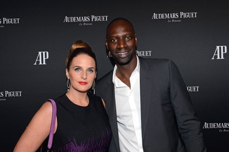 Helene and Omar Sy