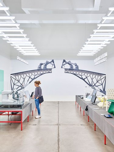 Installations in the Hello, Robot. Design Between Human and Machine exhibition