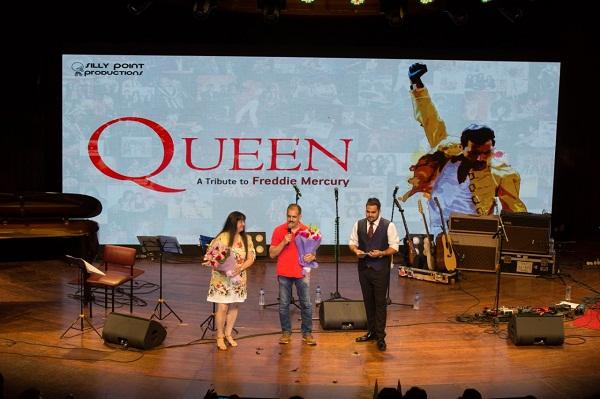 Queen A tribute to Freddy Mercury in Mumbai