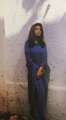 Sangita Kathiwada at a Verve shoot in 1995