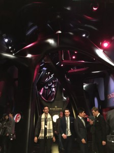 Roger Dubuis booth