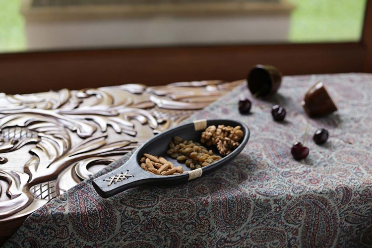 Longpi pottery bowl