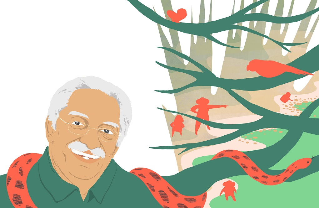 Bittu Sahgal, founder and editor of nature and wildlife conservation magazine Sanctuary Asia