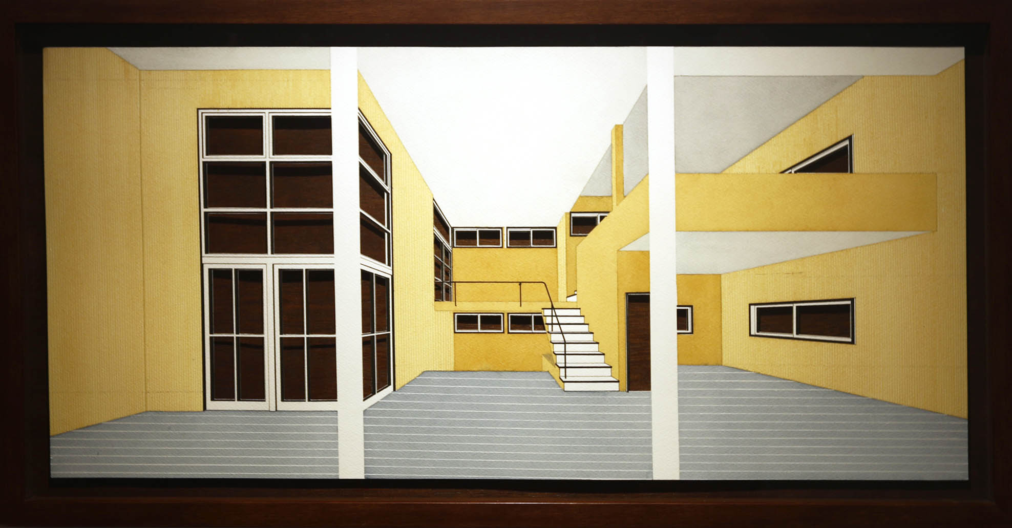 Vishwa Shroff, drawings, Drawn Space, Tarq, Mumbai, art show