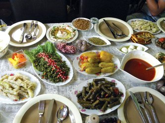 A Druze meal