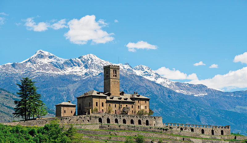 Castle of Sarre, Aosta Valley