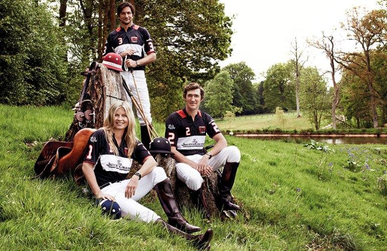 Polo ambassadors Luke Tomlinson, Clare Milford Haven and Eduardo Novillo Astrada