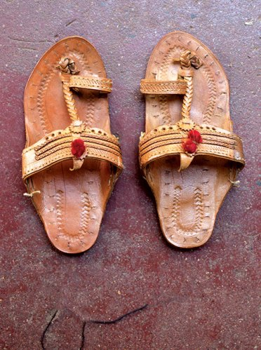 Kolhapuri chappals are recycled footwear that became fashionable