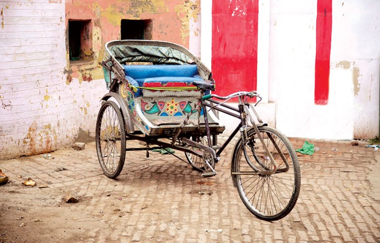 The cycle rickshaw is a mainstay of transport in several parts of the country