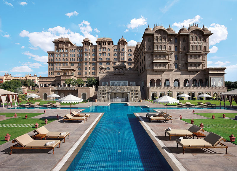 Facade of Fairmont Jaipur