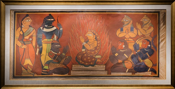 Sita Agnipariksha