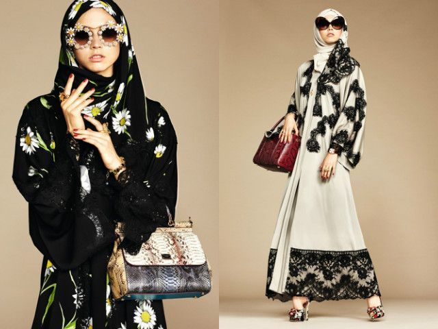 Dolce & Gabbana's Abaya collection