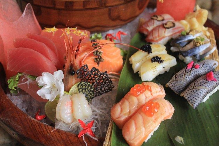 Japanese gurando platter
