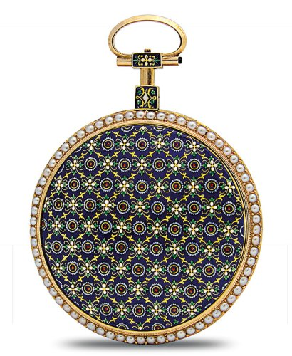 The paillonné Tapestry Pocket Watch from 1790