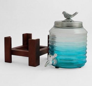 Glass dispenser from Jaypore