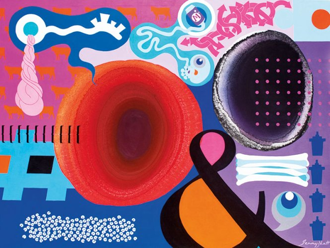Gallery Art & Soul Mind Map 27, Acrylic on Canvas